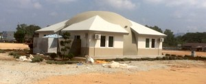 stucco core mix malaysia dome house